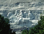 Confederate Memorial - The Largest High-Relief Sculpture in the World