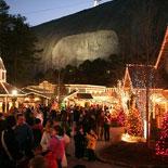 Christmas Town at Stone Mountain Park