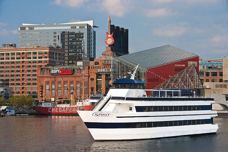 Spirit Cruises of Baltimore Lunch Cruise