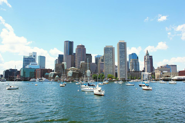 Unique opportunity to see Boston from the water