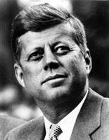 JFK at Inaugural Speech 1961