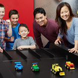 Family fun with 2 rides, 10 LEGO build & play zones, a 4D cinema & much more!