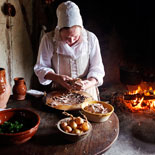 Hearth Cooking at Plimoth Plantation