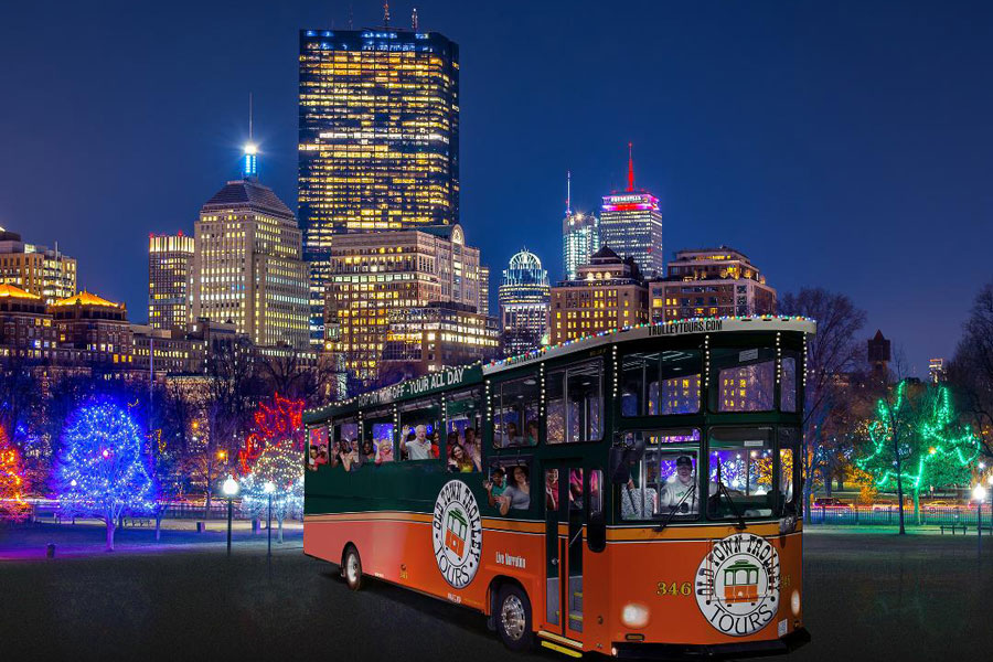 Boston Holiday Lights and Sights Tour