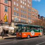 Boston Old Town Trolley Silver Pass and Tea Party Package