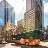 Sit back and let these expert conductors show you the Best of Boston with Old Town Trolley
