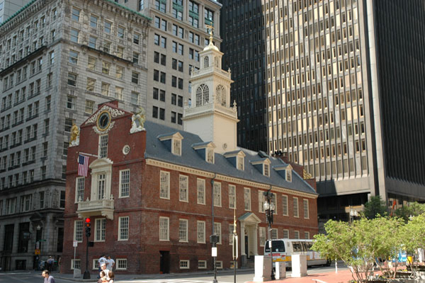 Bostons Old State House