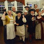 Spirited Colonial Tavern Atmosphere