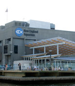 New England Aquarium from Boston Harbor