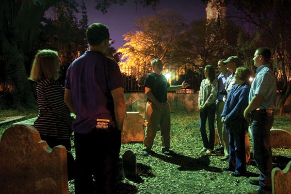 Charleston Ghost and Graveyard Walking Tour