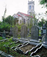 Historical Charleston Graveyard