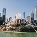Glide Past Buckingham Fountain
