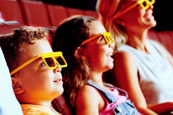Feel a part of the story in the 4D cinema