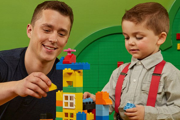Enjoy a DUPLO soft play