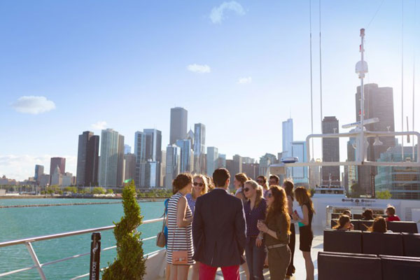 Largest outdoor patio deck in Chicago