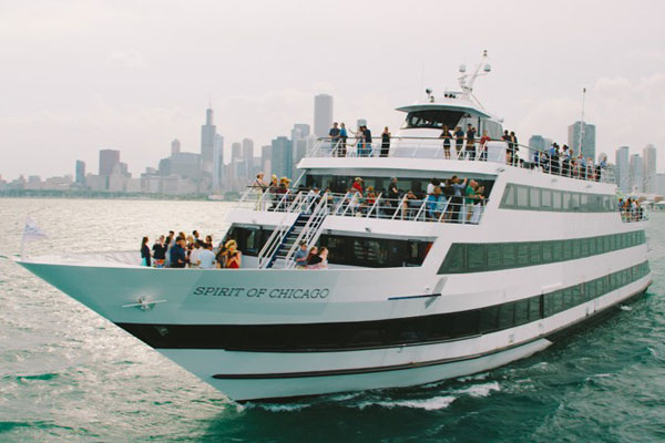 Spirit of Chicago Weekend Lunch Cruise