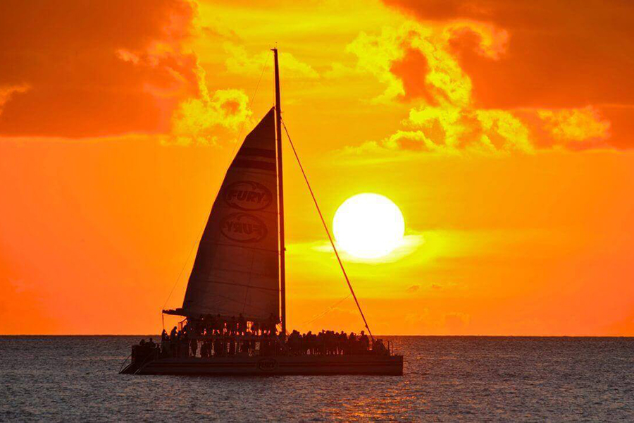 Sail Into the Famous Key West Sunset
