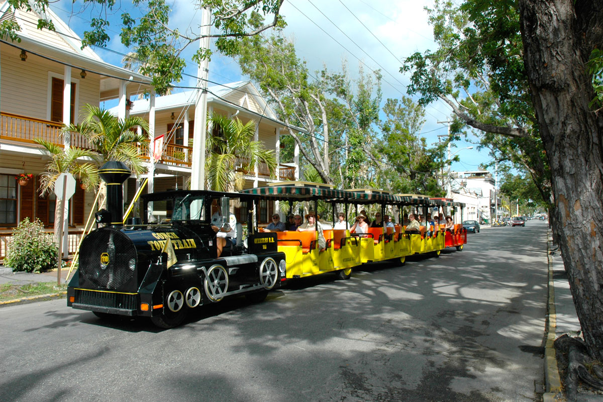 Discount coupons for conch train ride