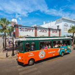 The is the best way to see Key West and one of it's major attractions.