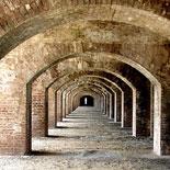 Inside Fort Jefferson