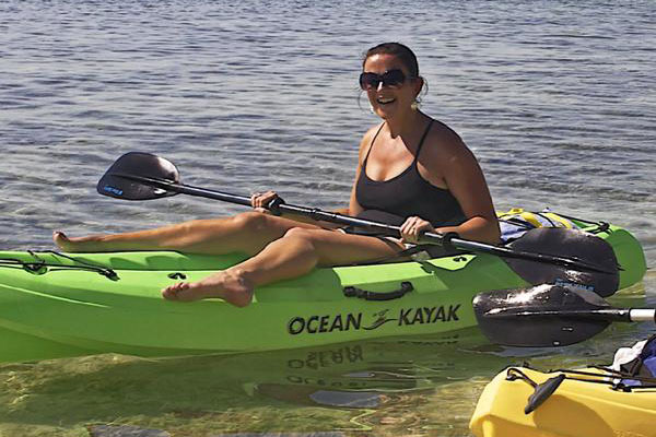 The eco-friendly Downwind Kayak adventure