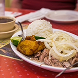 Tastings of authentic dishes like Cuban pork & Key lime pie