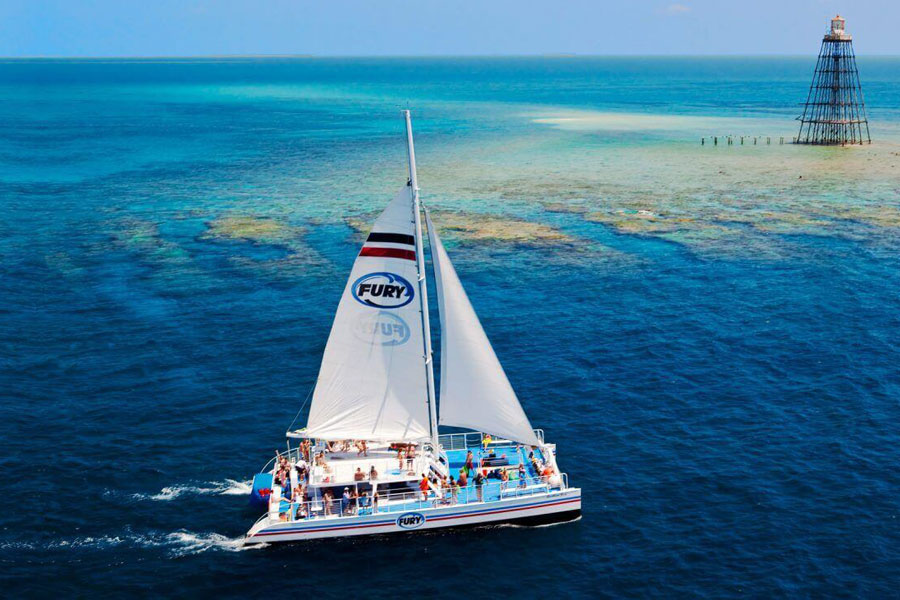 Sail on a State-of-the-Art Catamaran