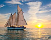 Schooner Appledore Champagne Sunset Sail