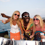 Sunset Watersports' Party Boat