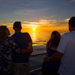 Experience one of Key West's famous sunsets