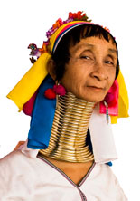 Padaung Long Neck Woman