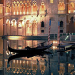 Outdoor Gondola At The Venetian