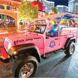 Las Vegas Bright Lights City Tour: Explore Vegas in an open-air Pink Jeep Wrangler