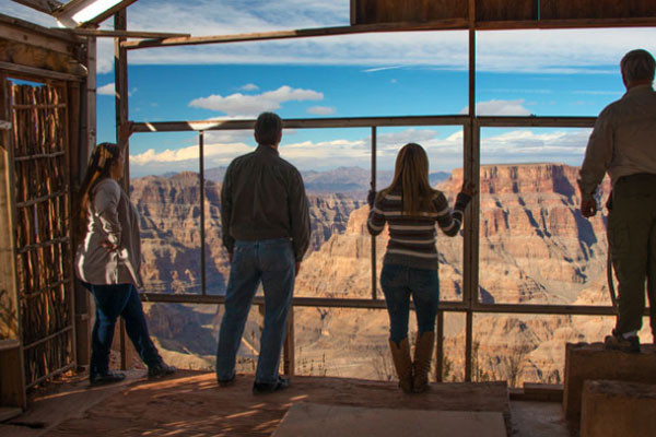 The Canyon's panoramic vastness awaits you