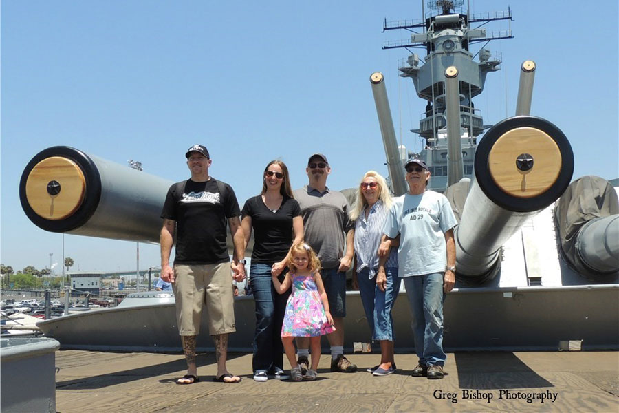 The Pacific Battleship Center's Battleship IOWA