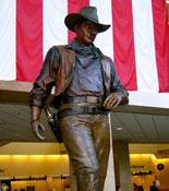The John Wayne Statue