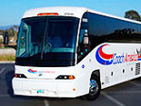 Wide Body Motor Coaches for Comfort & Room