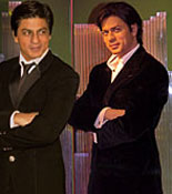 Shah Rukh Khan Side by Side with his Figure