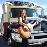 Climb aboard the Backbeat Bus for a musical sightseeing tour to beat the band