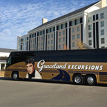 Travel in comfort on a luxury motorcoach with Graceland Excursions