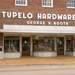 Tupelo Hardware Company where Elvis' mom purchased his first guitar