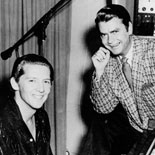 Sam Philips and Jerry Lee Lewis Introduce the Studio's Rythms to New White Audience