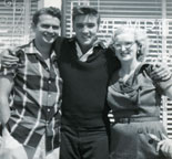 Elvis in his early years with Sam Phillips and Marion Keisker
