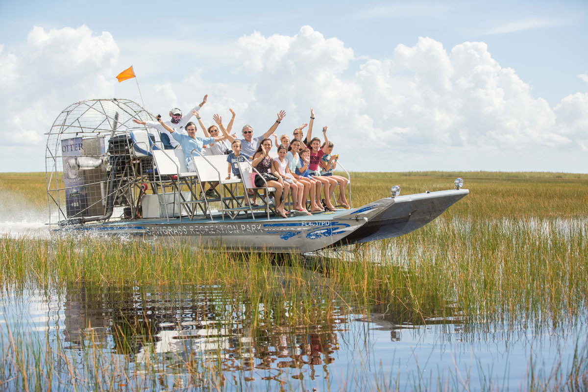 Private Airboat Ride
