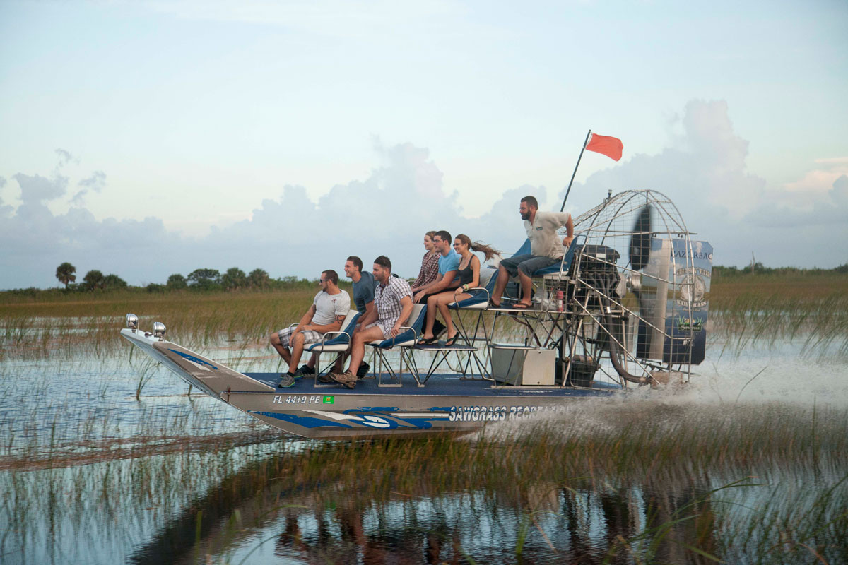 A Private Airboat Ride