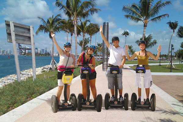 The Miami Art Deco Segway Tour