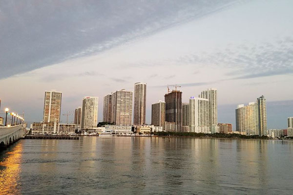 Tour the waters of Miami's Biscayne Bay
