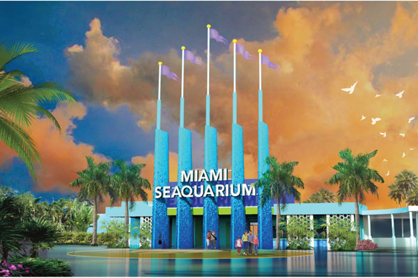 Front Entrance at Miami Seaquarium