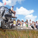 Hold on to your hats! The airboat is ready for the Everglades Tour