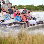 Let certified tour guides show you the mystery and ecology of the Everglades on this full day excursion.